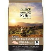 Canidae grain free pure elements limited ingredient diet made with fresh chicken for all age cats 10 pounds (3/20)