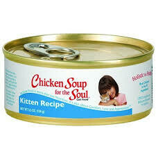 Chicken soup for the soul kitten recipe chicken wet food 5.5 ounces 24 count (2/20)