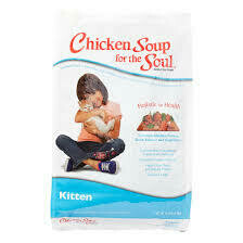 Chicken soup for the soul contains chicken turkey duck salmon and vegetables for kittens 5 pounds