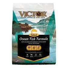 Victor superpremium dog food select ocean fish with salmon for normally active dogs 5 pounds (1/20)
