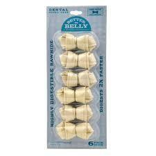 Better Belly Mini Dental Bones 6 Pack (4/20)