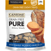 CANIDAE GRAIN-FREE PURE DOG TREATS SWEET POTATO/DUCK (3/20)