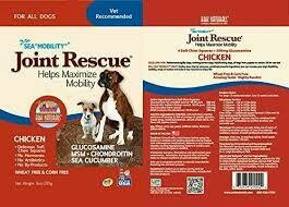 Ark naturals joint to rescue cranberry meat free helps maximize move ability for all dogs glucosamine MSM and controlling and sea cucumber 9 ounces squares (6/19)