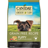 CANIDAE UNDER THE SUN GRAIN-FREE CHICKEN RECIPE PUPPY DRY DOG FOOD 4 LB (3/20)