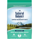 NATURAL BALANCE L.I.D LIMITED INGREDIENTS DIETS GRAIN-FREE PEA & CHICKEN FORMULA DRY CAT FOOD 2 LBS (4/20)