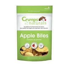 Crump naturals mini trainers no additives or preservatives or colors Apple bites non-DMO gluten-free 1.6 ounces (1/20)