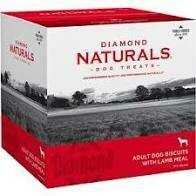 Diamond Naturals Adult Bixcuits with Lamb Meal Dog Treats 19 lb box (7/18)