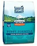 Natural Balance Original Ultra Whole Body Health Chicken, Brown Rice & Duck Meal Puppy Dry Dog Food 14 LBS (3/20)