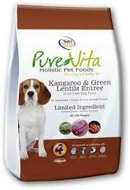 NutriSource PureVita Grain-Free Kangaroo & Green Lentils Dog Food 5 lbs