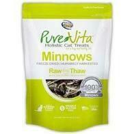 PureVita Grain-Free Freeze-Dried Minnows Delights Holistic Cat Treat (1/20)