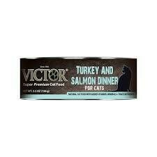 Victor superpremium cat food turkey and salmon dinner for cat 5.5 ounces 1 COUNT (1/20)