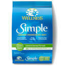 Wellness Simple Solutions Lamb and Oatmeal Formula Dry Dog Food 10.5 LBS (3/20)