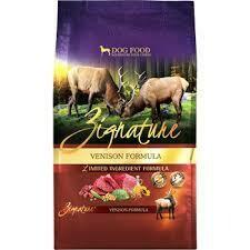 ZIGNATURE VENISON LIMITED INGREDIENT FORMULA DRY DOG FOOD 13.5 LBS (3/20)