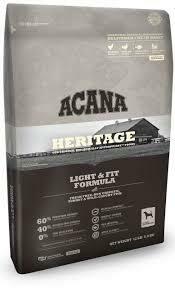 Acana Heritage Light & Fit Formula Dog Food 12 oz (10/19)