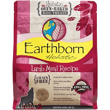 Earthborn holistic oven-baked dog treats lamb meal recipe grain-free 14 ounces (3/20)