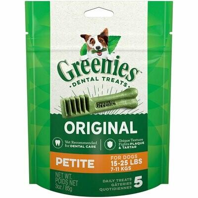 Greenies Petite Dental Dog Treats, 30 count  (11/19)