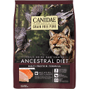 CANIDAE Grain-Free PURE Ancestral Diet Freeze-Dried Raw Coated Multi-Protein Formula with Turkey & Salmon Dry Cat Food 2.5 lbs (5/20)