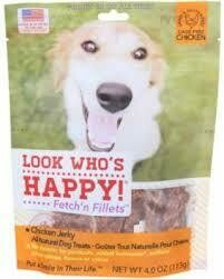 Look Who's Happy! Happy Tempt-n Tenders  Grain-Free Chicken & Cranberry 4 oz (4/19)