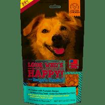 Look Who's Happy! Tempt-n Tenders  Grain-Free Chicken & Pumpkin Dog Treats 4 oz   (11/19)
