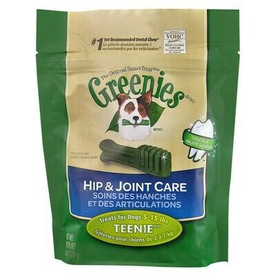 Greenies Hip & Joint Care Canine Dental Chews Teenie Dog 6 oz  (11/19)