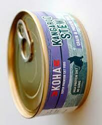 Koha Kangaroo & Turkey Pate Wet Cat Food 5.5 oz 24 count (10/20)