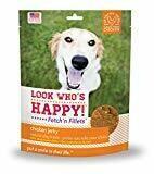 Look Who's Happy!  Fetch'n Filets Grain-Free Chicken Jerky 4 oz.   (11/19)