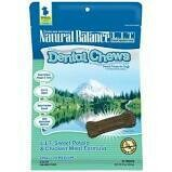 Natural balance limited ingredient treats dental chews for dogs small to medium 5 to 25 pound adult dogs 22 count 13 ounce (1/20)