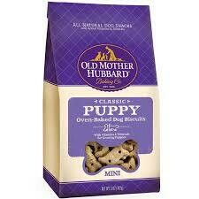 Old mother Hubbard classic puppy oven-baked dog biscuits many 5 ounces (1/20)