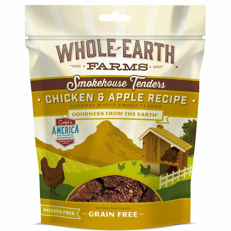 Merrick Whole Earth Farms Grain Free Smokehouse Tenders Chicken & Apple Recipe Dog Treat