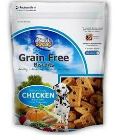 Nature source grain-free biscuits chicken flavor crunchy (1/20) 14 ounces