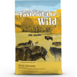 Taste of the Wild High Prairie Grain-Free Dry Dog Food 28 lbs (11/20)