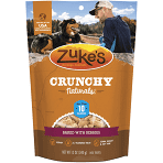 ZUKE'S crunchy naturals less than 10 cal baked to with Barry's dog treats 12 ounces (1/20)