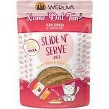 Weruva Slide N' Serve Grain-Free Dat Tuna Tuna Grain-Free Cat Food Pouches 5.5 oz 12 count (4/20)