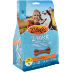 ZUKE'S Z bone dental treat with carrots six bones large dogs 60 to 90+ pounds 15 ounces