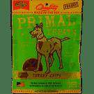 Primal Pet Foods Grain-Free Jerky Turkey Chips Dry Dog Treat, 3 oz (2/20)