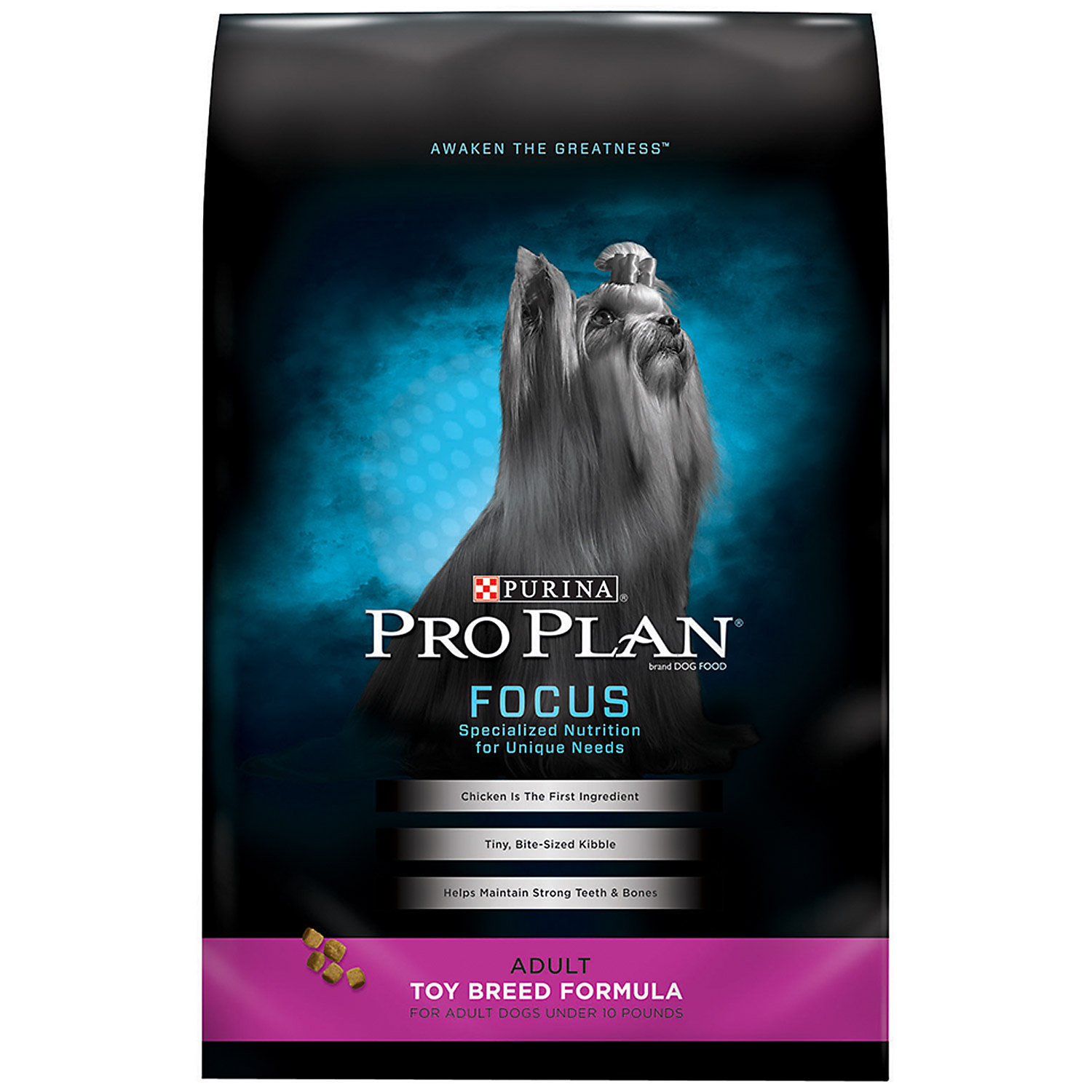 Pro Plan Focus Toy Breed Adult Dog Food (5 lbs.) (5/19) (A.M5)