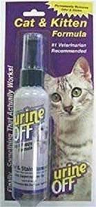 **SALE** Urine off Cat/Kitten Spray, 4-Ounce (O.L3/L4/L5)