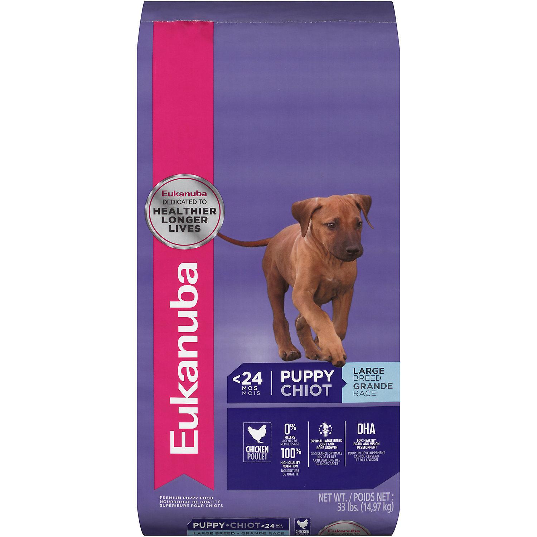 Eukanuba Large Breed Chicken Puppy Food 33 lbs