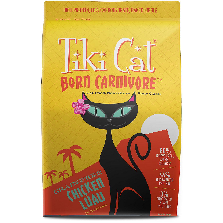 Tiki Cat Born Carnivore Chicken Luau Dry Cat Food, 2.8 lbs. (9/18)  (A.I1)
