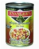 Evanger's Evanger's Chunk Chicken Casserole Dog 13.2Oz 12 COUNT