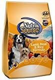 Nutri-Source Lamb and Rice Dry Dog Food Size: 6.6-lb bag (9/18)  (A.M8)