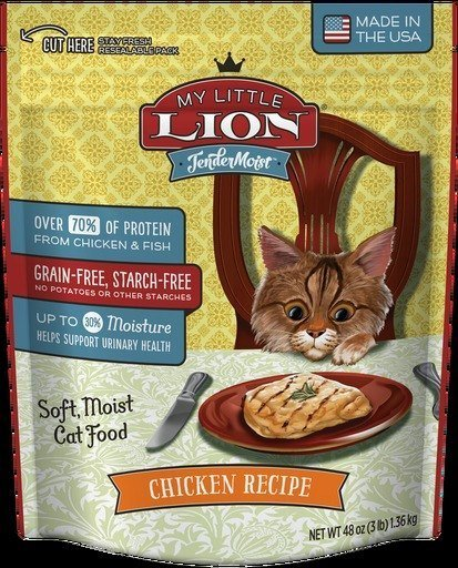 American Nutrition Tendermoist My Little Lion Cat Tendermoist Chicken Cat Food - 3 lb.