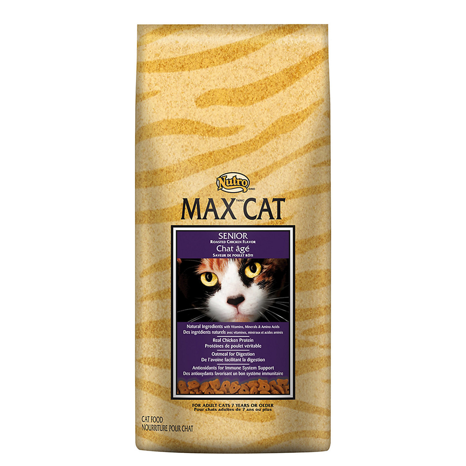 MAX CAT Senior Cat Food - Roasted Chicken Flavor (6 lbs.; Chicken) (12/18) (A.J1)