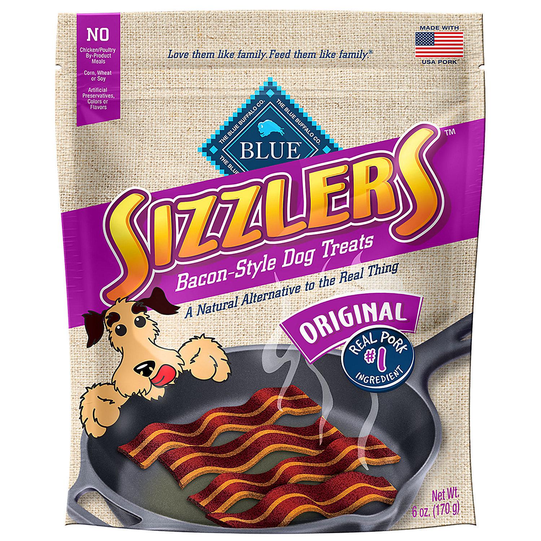 Blue Buffalo Kitchen Cravings Pork Sizzlers Dog Treats, 6 oz. (12/18) (T.A5/DT)