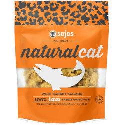 Sojos  Natural Cat Wild-Caught Salmon Freeze-Dried Cat Treats, 1 oz (8/20)