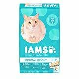 IAMS Dry Food Proactive Health Optimal Weight Dry Cat Food, 16 lb (12/18) (A.M7)