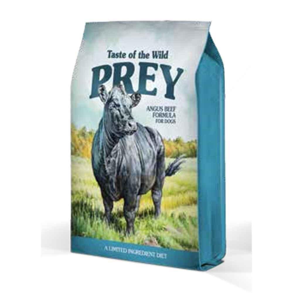 Taste of the Wild Prey Angus Beef Formula Dog 8 lb (11/19)