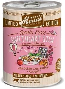 **BOGO** Merrick Pet Food Sweetheart Stew GRAIN FREE Food 12.7 oz - Case of 12 (11/18) (A.A3/DW)