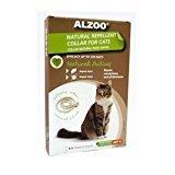 ALZOO Natural Repellent Flea & Tick Collar for Cats 1-oz box 1-count (12/18) (O.G3)