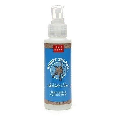 Cloud Star Buddy Splash Dog Spritzer Rosemary and Mint 4 fl oz (O.C2/PR)